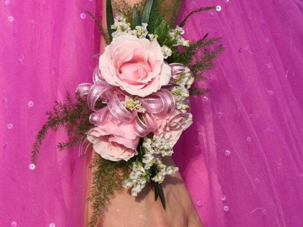 close-up-pink-dress-flower-arm-hand-1576956
